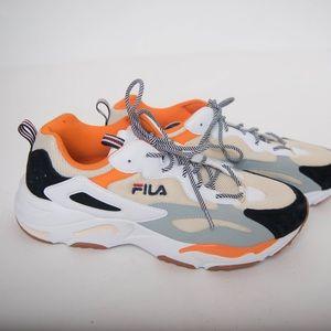 FILA Shoes Nye Sable Herre-joggesko Sz 8 løpesko  New Sable Mens Sneakers Sz 8 Running Shoe